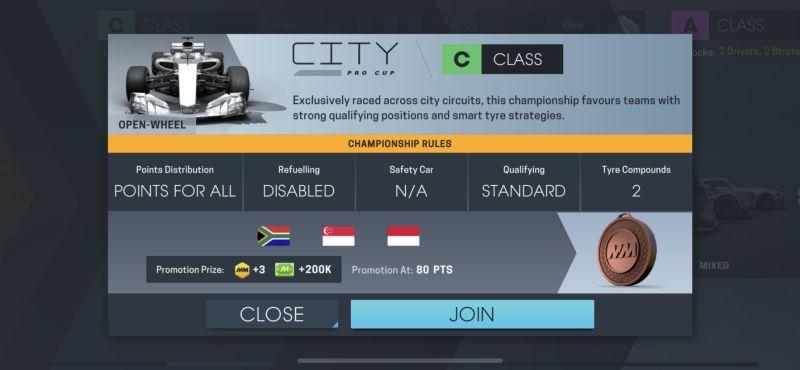 motorsport manager online class