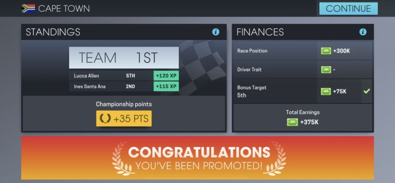 how to get promoted in motorsport manager online