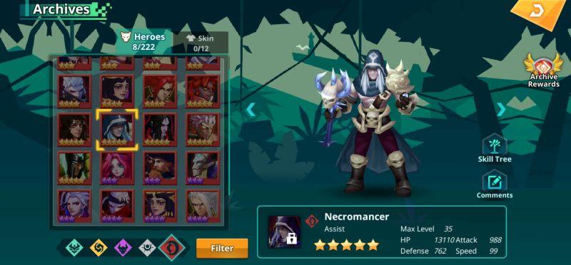 necromancer calibria crystal guardians