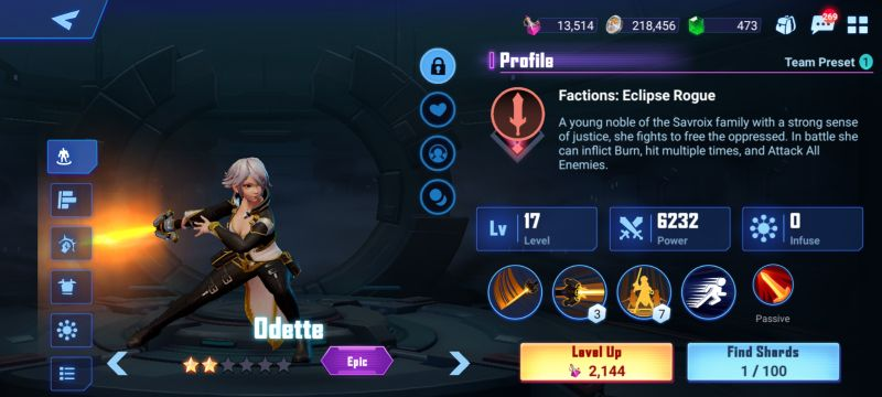 odette crystalborne heroes of fate