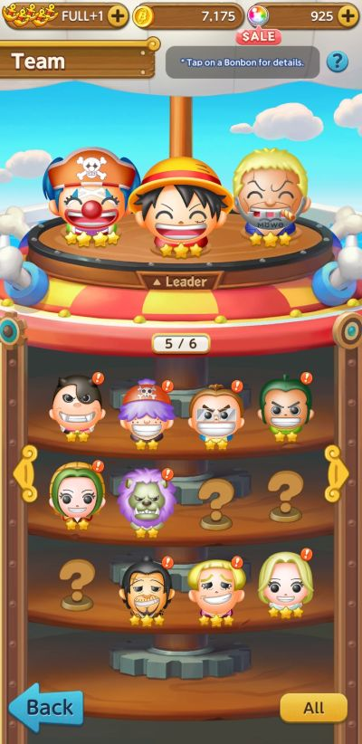 how to build a team in one piece bon bon journey