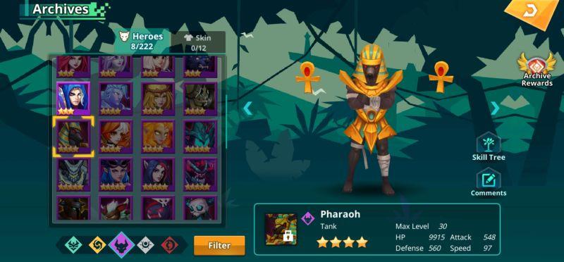 pharaoh calibria crystal guardians