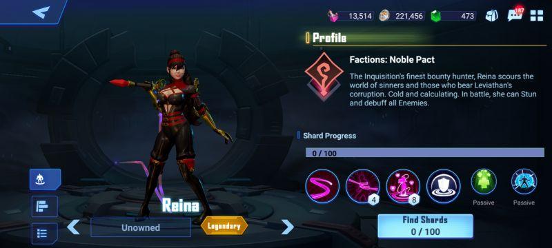 reina crystalborne heroes of fate