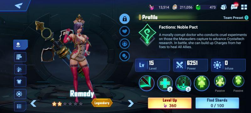 remedy crystalborne heroes of fate