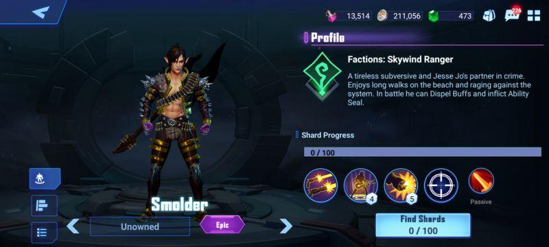 smolder crystalborne heroes of fate