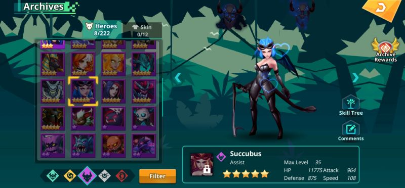succubus calibria crystal guardians