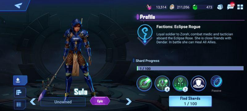 sula crystalborne heroes of fate