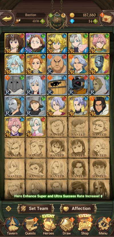 the seven deadly sins grand cross team
