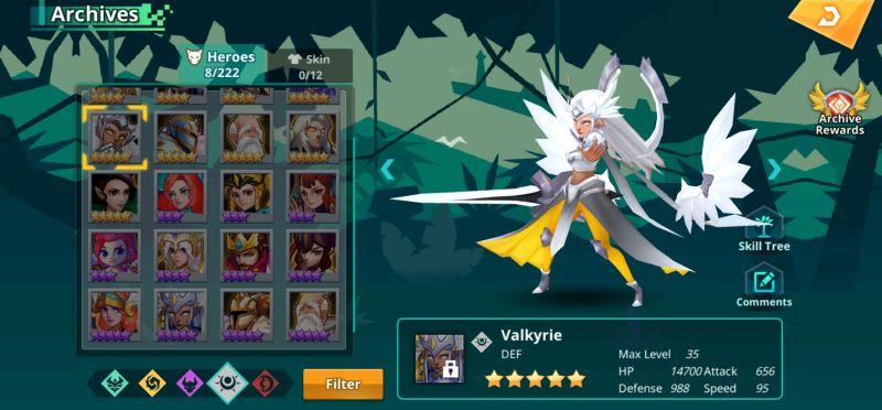 valkyrie calibria crystal guardians