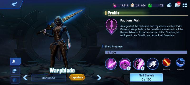 warpblade crystalborne heroes of fate