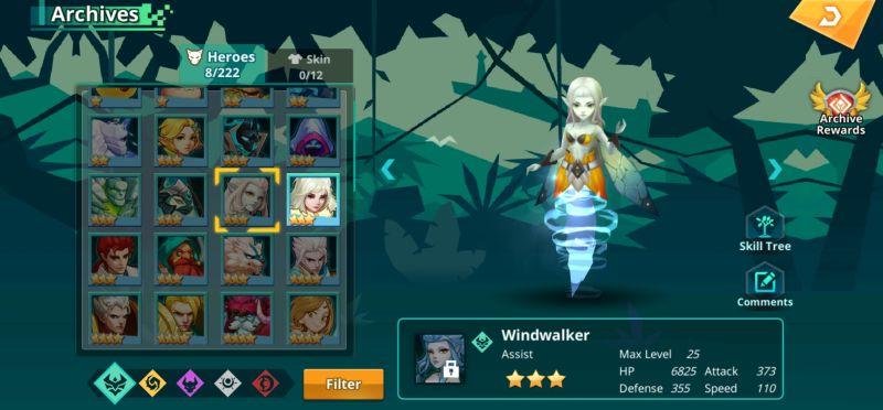 windwalker calibria crystal guardians