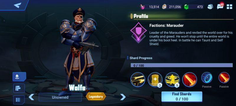 wolfe crystalborne heroes of fate