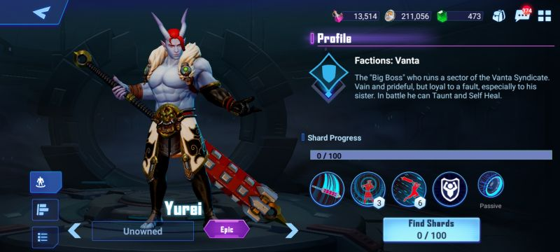 yurei crystalborne heroes of fate