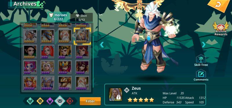 zeus calibria crystal guardians