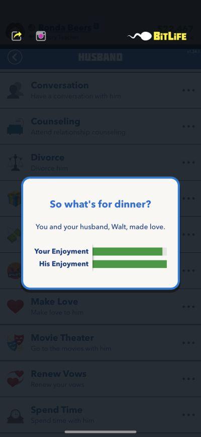 making love in bitlife