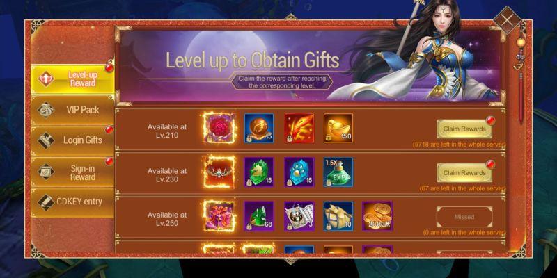 devil hunter eternal war rewards