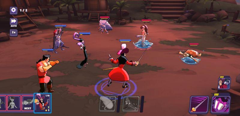 disney sorcerer's arena combat tactics