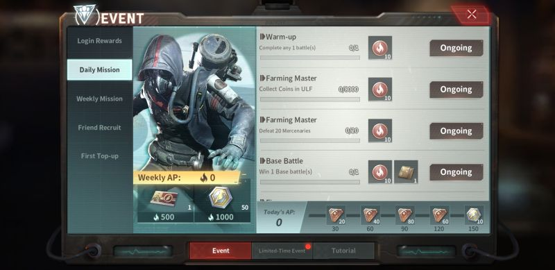 disorder missions
