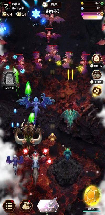 dragon epic battle