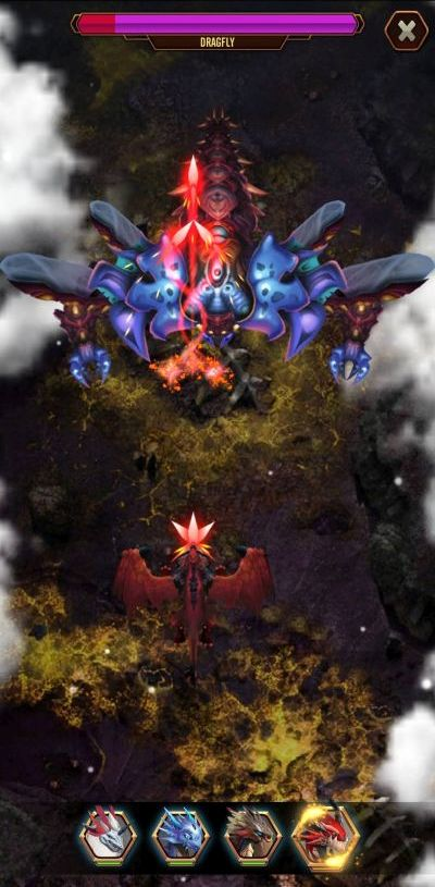 dragon epic boss fight
