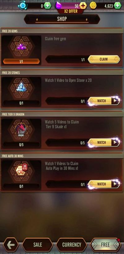 how to get goodies in dragon epic