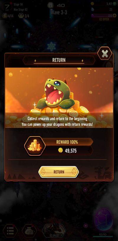 dragon epic return function