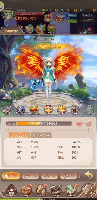 elf tales enhancements and rewards