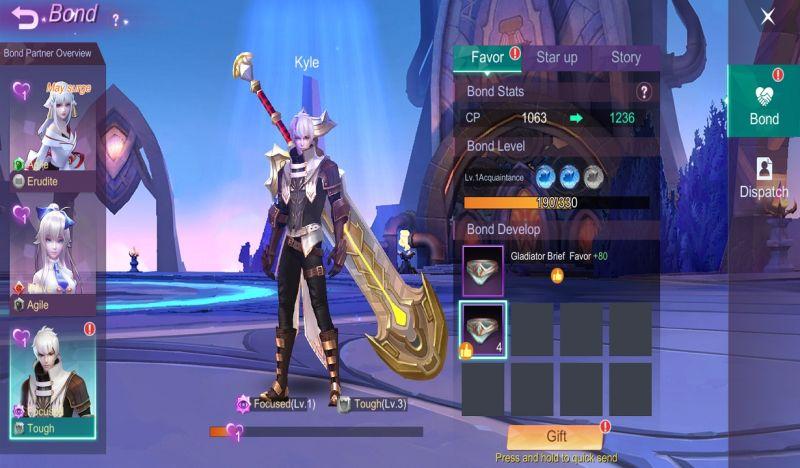 eternal sword m kyle