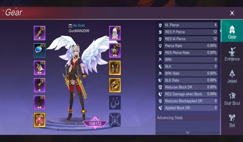 eternal sword m gear