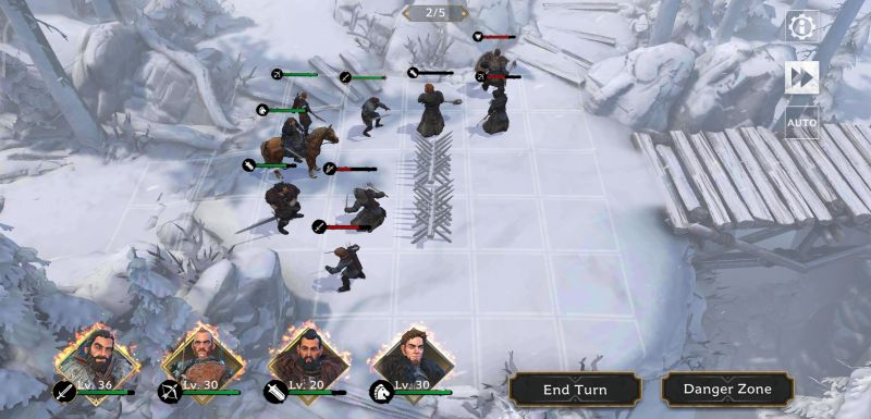 game of thrones beyond the wall battle tactics