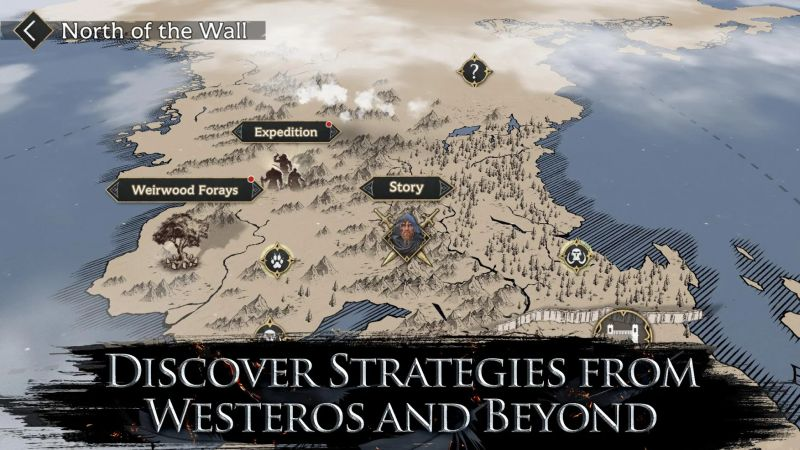 game of thrones beyond the wall formation tactics
