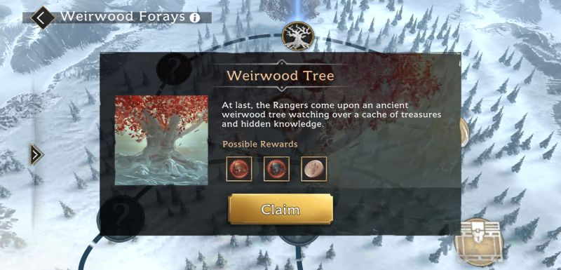 game of thrones beyond the wall weirwood forays