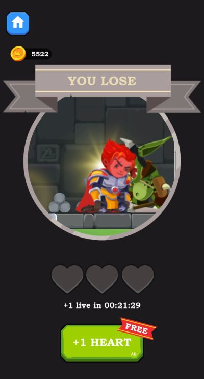 how to get extra heart in hero rescue
