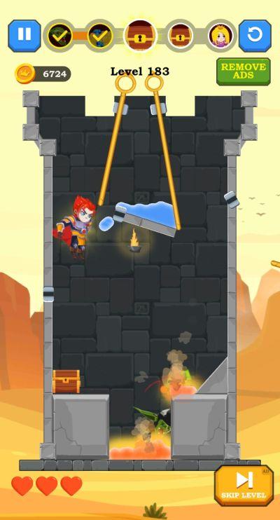 hero rescue tricks
