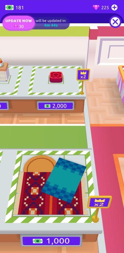 idle life sim furniture