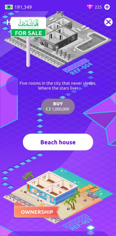 how to save for a new house in idle life sim