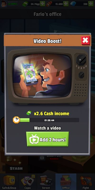 how to get boosters and freebies in idle mafia