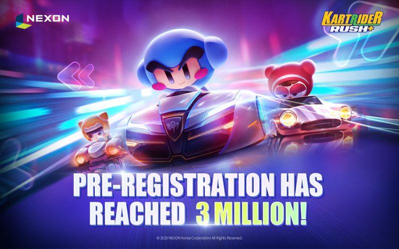 kartrider rush+ pre-registration