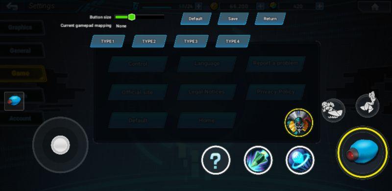 mega man x dive control settings