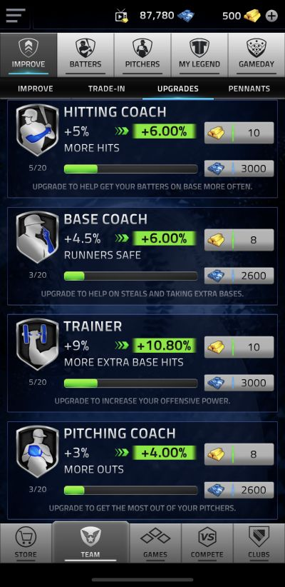mlb tap sports baseball 2020 upgrades