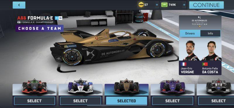 motorsport manager online formula-e team