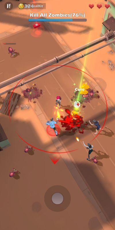 mow zombies battle strategies