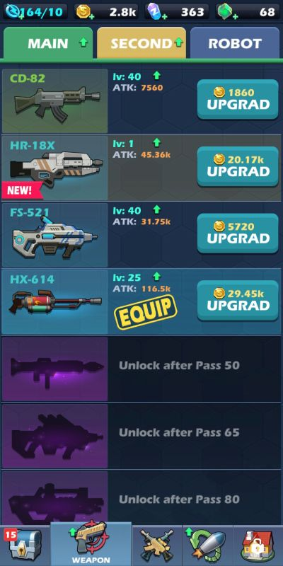 mow zombies weapon upgrade