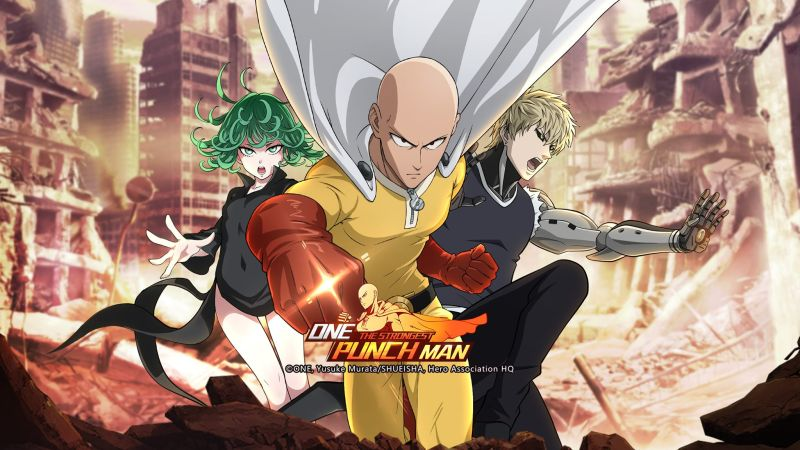 one punch man the strongest