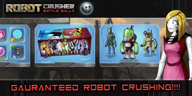 robot crusher battle ballz upgrades