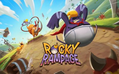 Side-Scrolling Casual Game 'Rocky Rampage: Wreck 'em Up' Out Now on iOS and Android