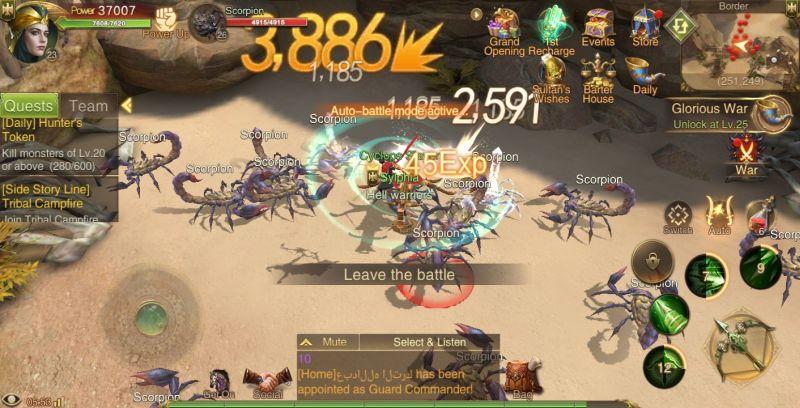 saga of sultans main quest
