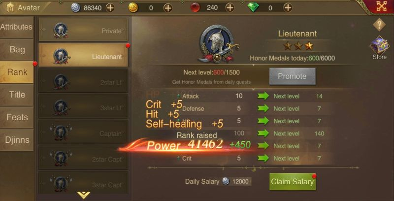 how to earn rewards in saga of sultans