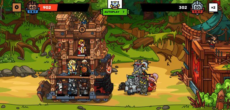 towerlands battle