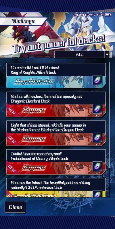 vanguard zero challenges